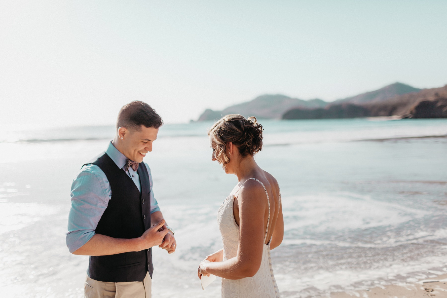Beach elopement Costa Rica
