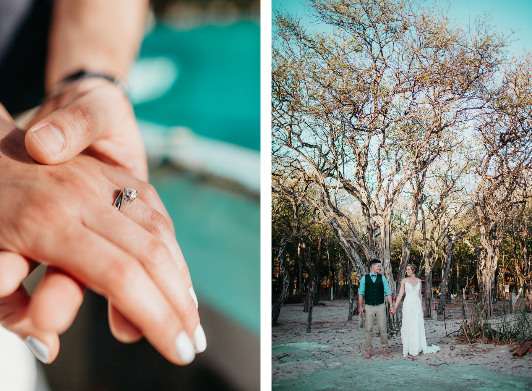 Wedding rings - destination elopement wedding