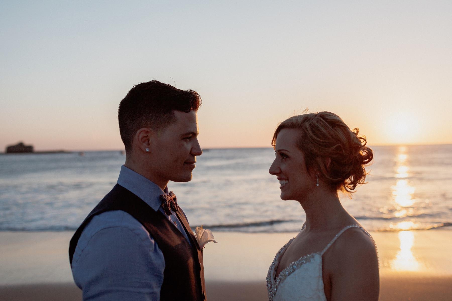 Beach elopement in Nicaragua