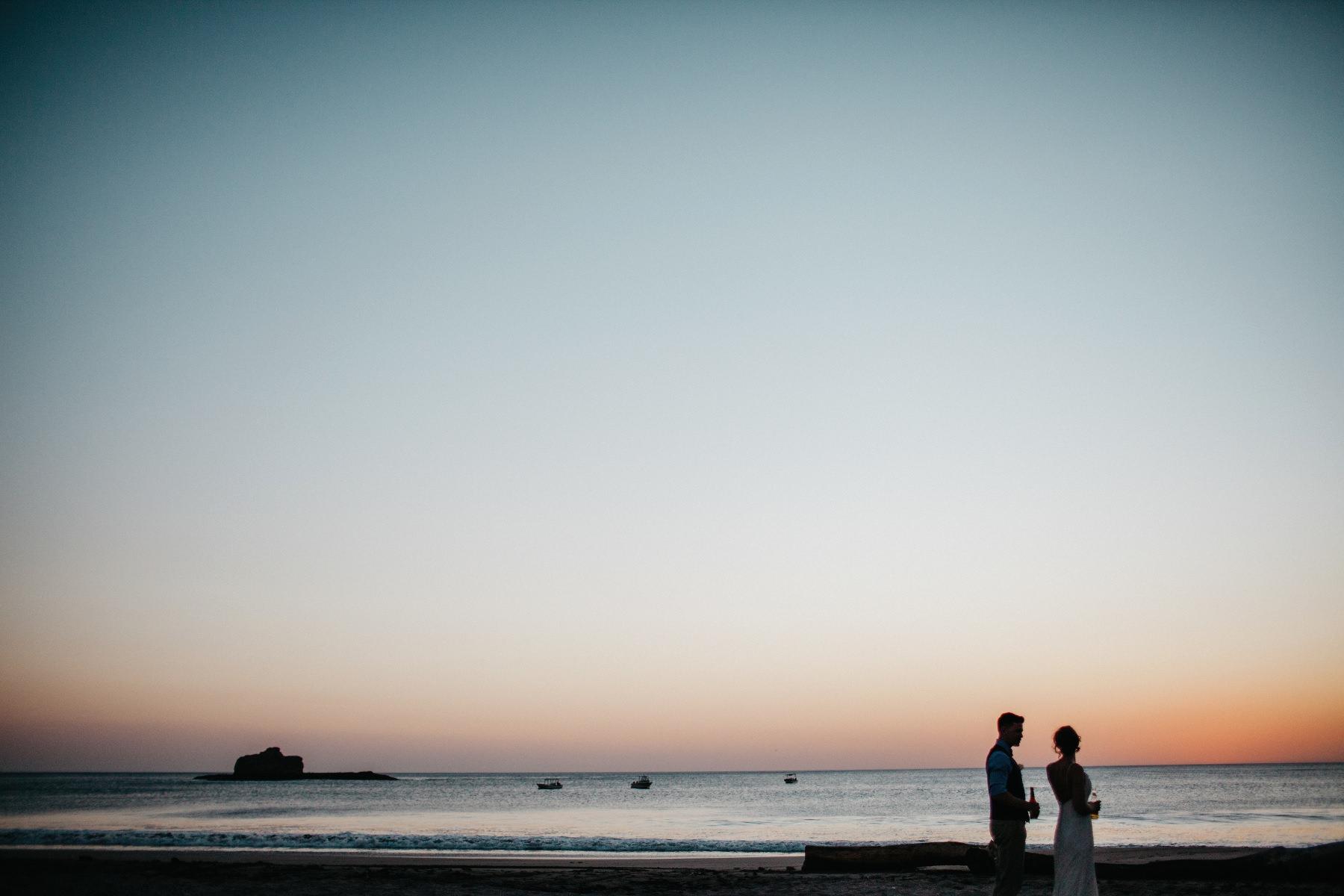 Beach elopement weding in Costa Rica and Nicaragua