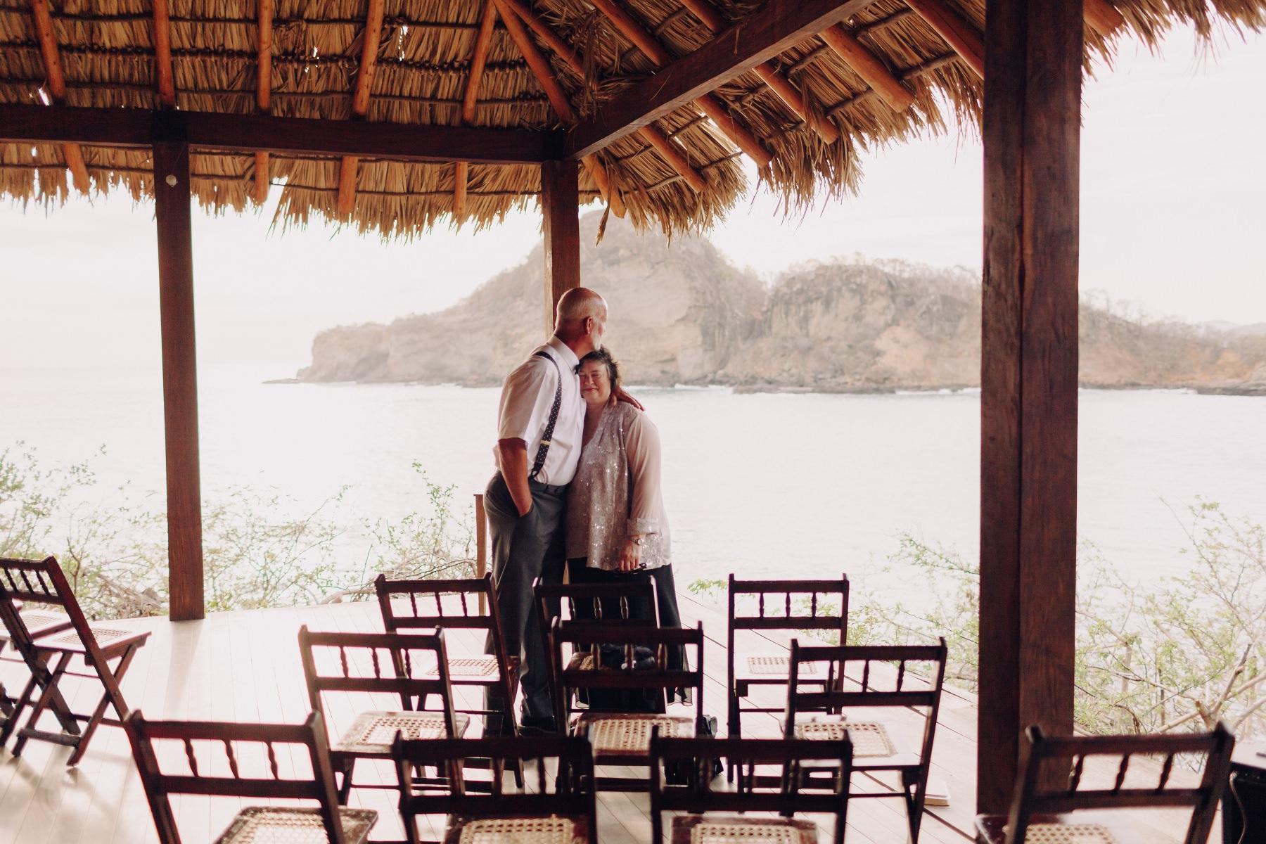Parental love - destination wedding Costa Rica
