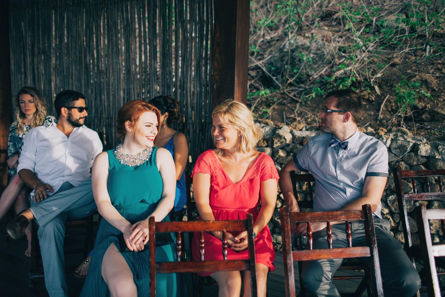Guests - destination wedding Aqua Nicaragua