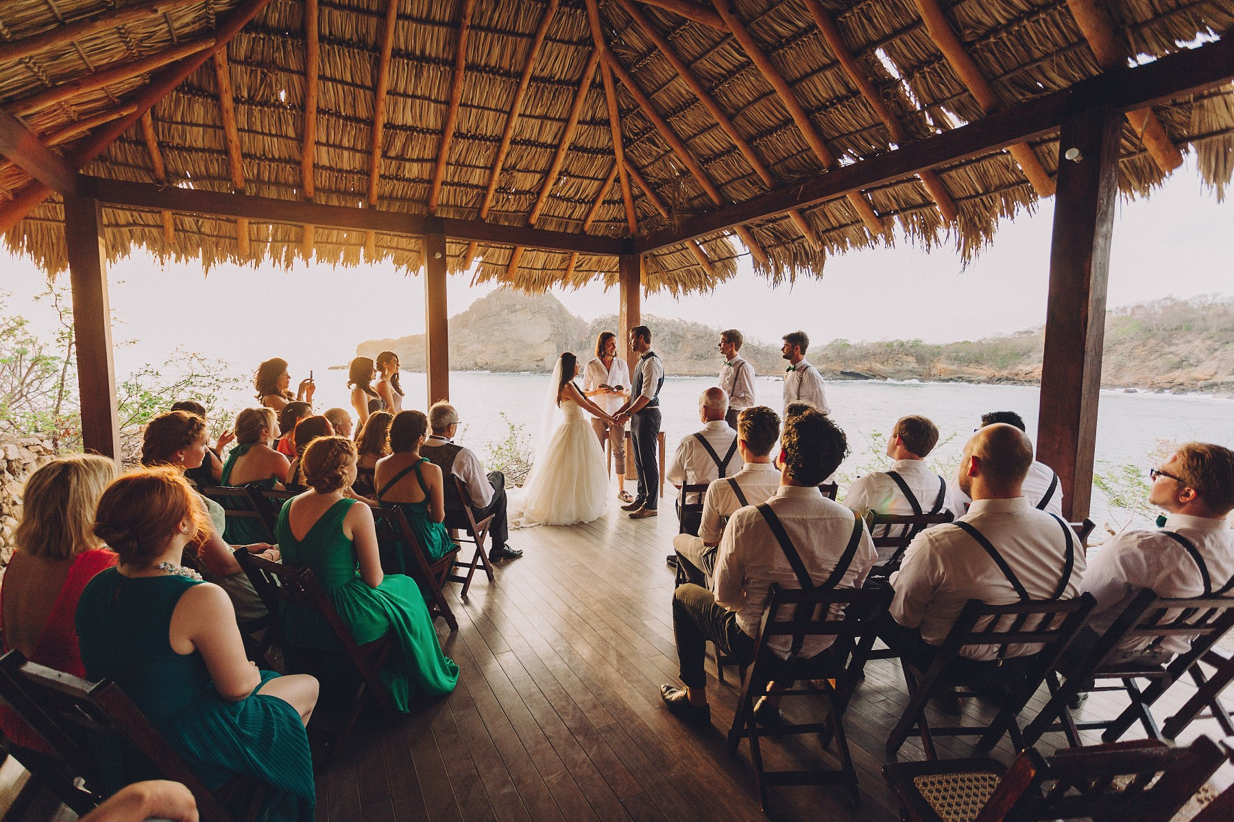 Destination Beach wedding venue in Nicaragua. Wedding photography