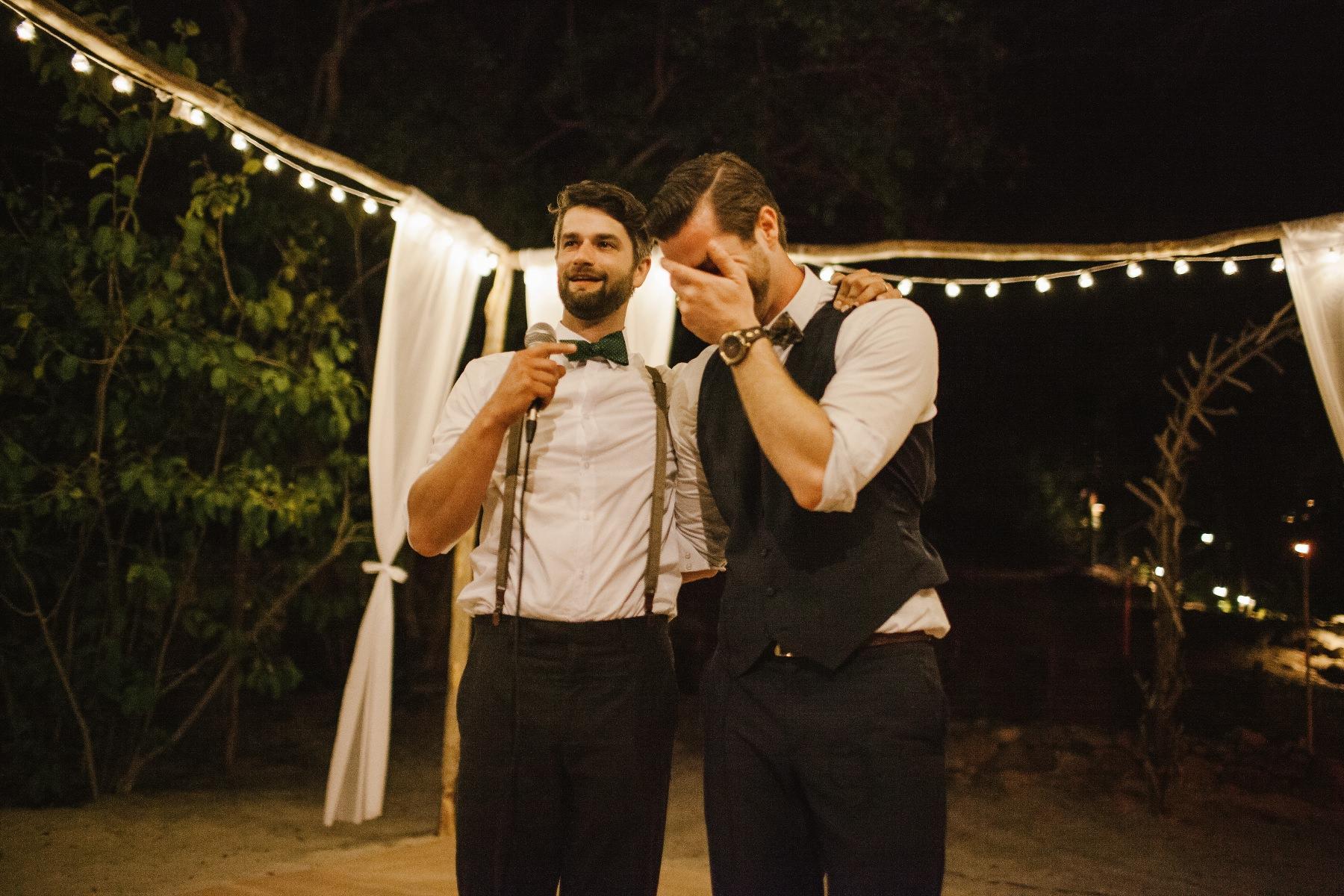 wedding speech Destination wedding Costa rica