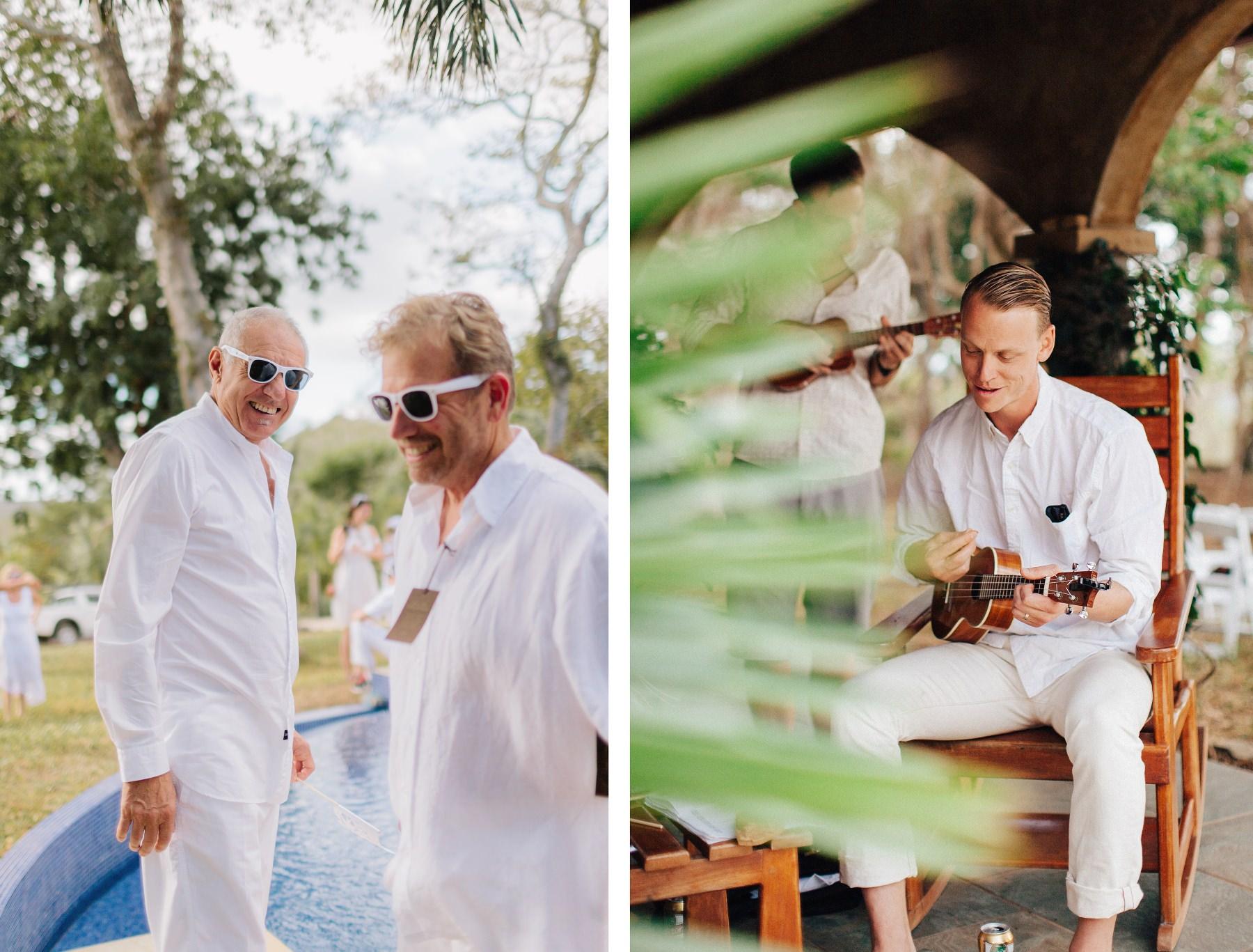 Boho wedding Costa Rica