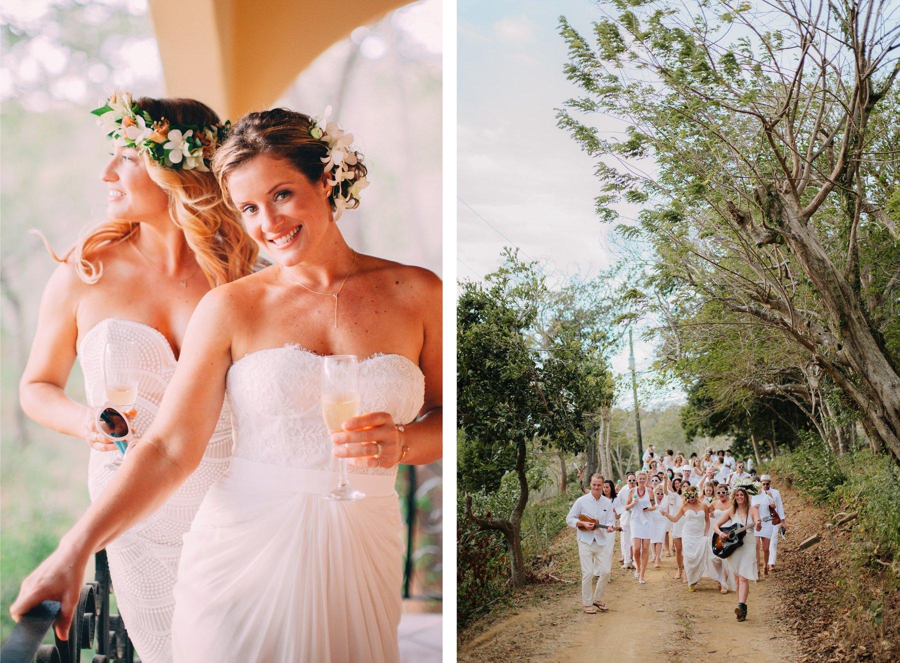 Brides portrait Costa Rica