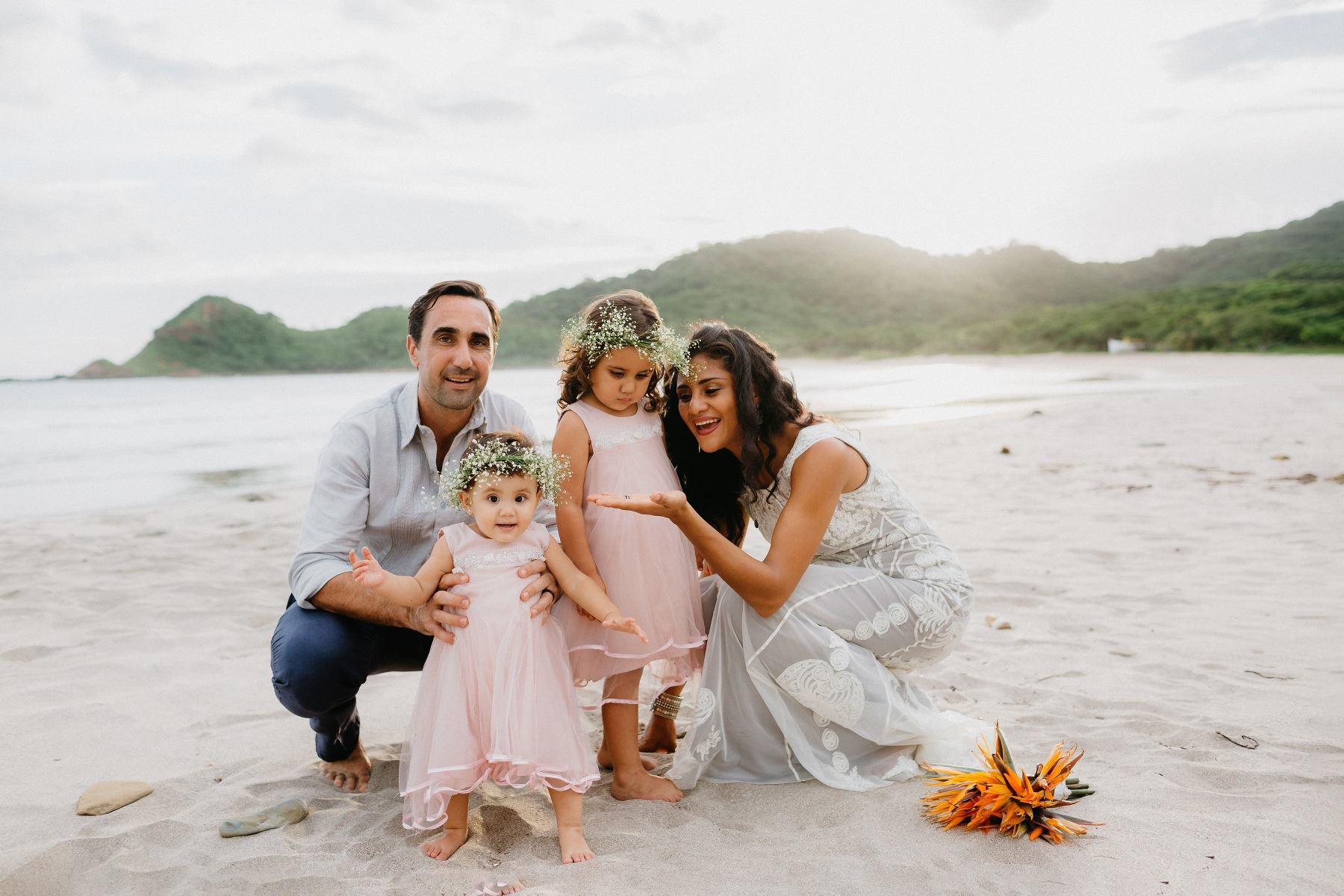 Costa Rica Family photography post-wedding