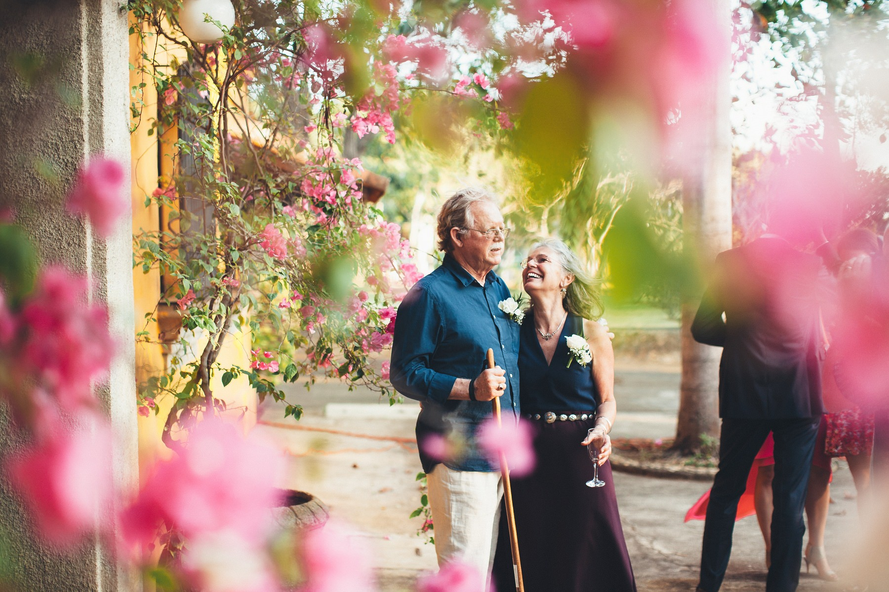 Parents of the bride - colonial style destination wedding