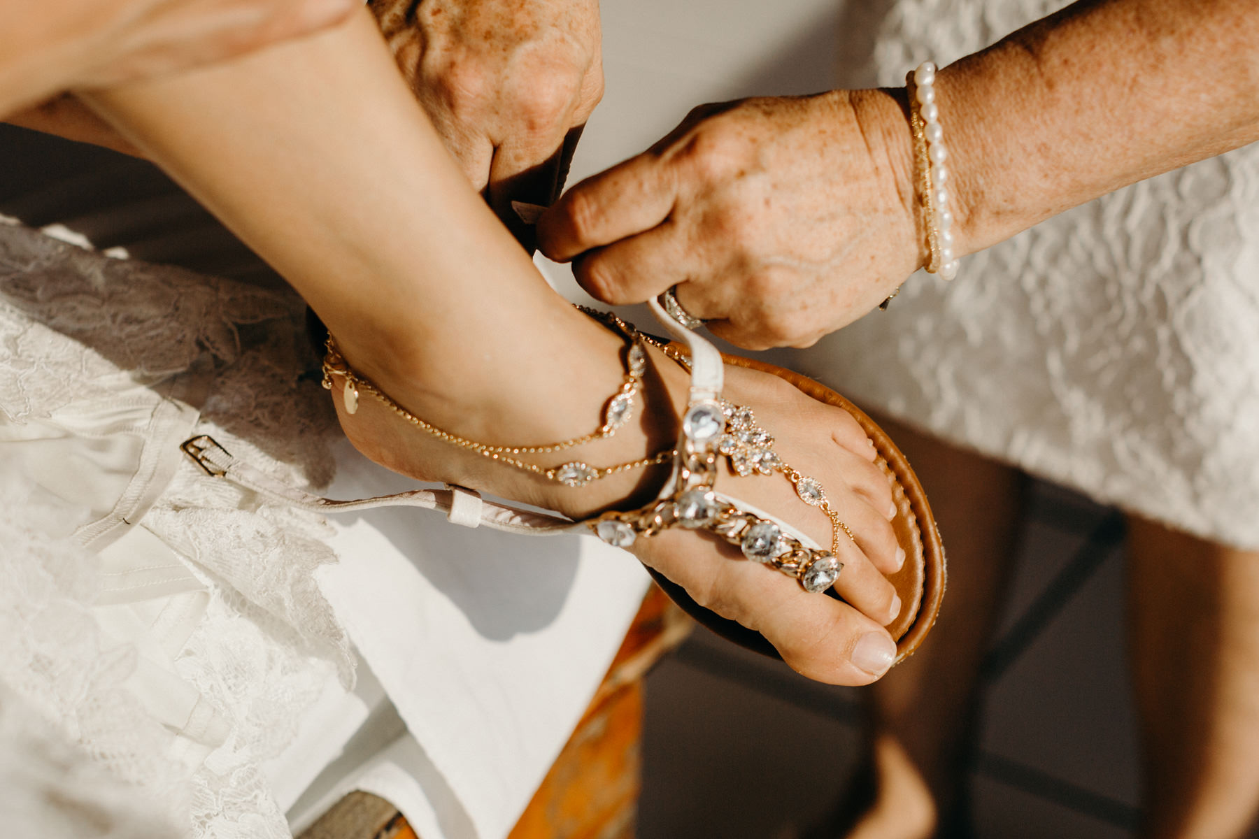 beach wedding Wedding Foot Jewelry inspiration