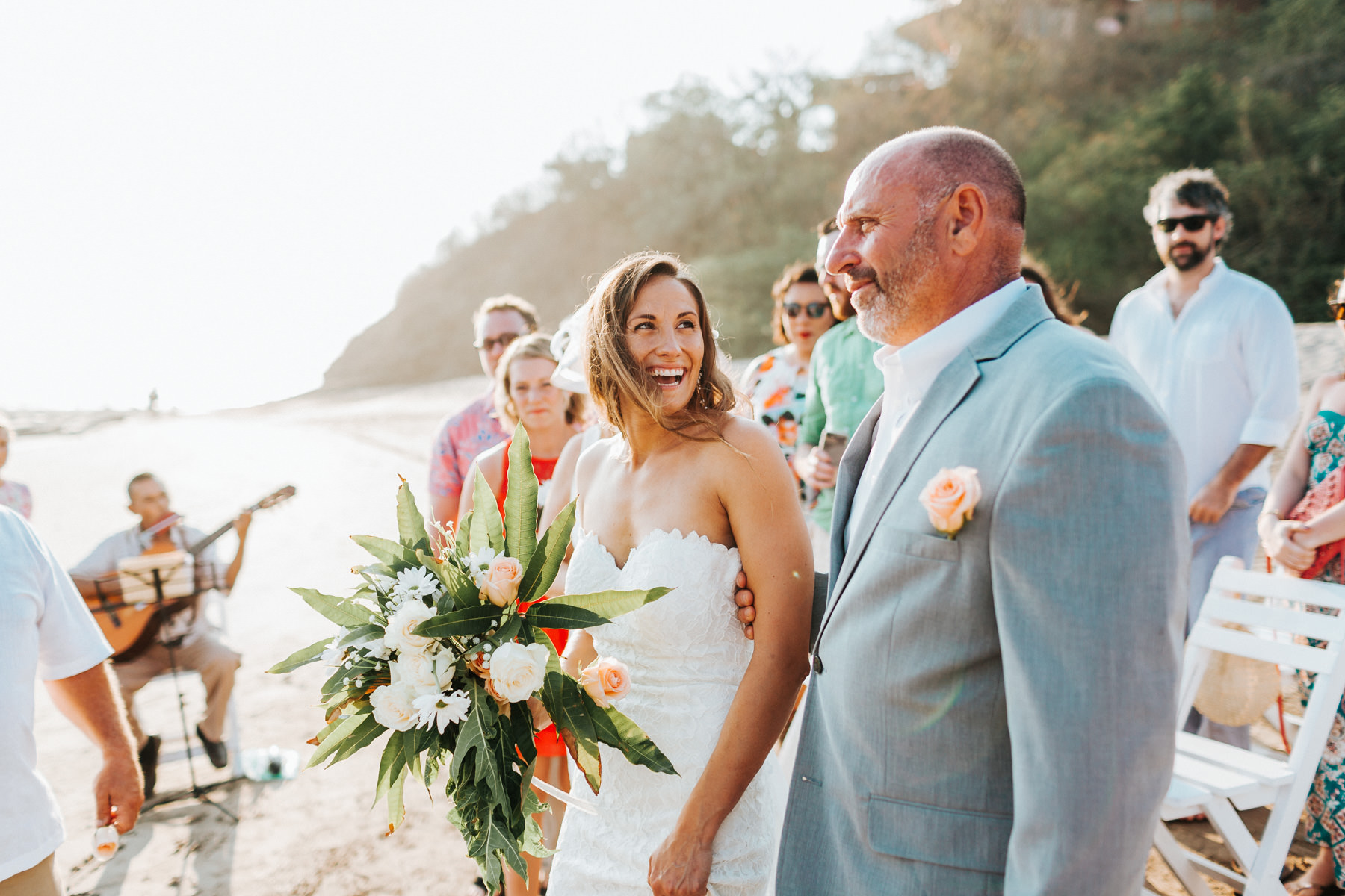 Costa Rica Beach wedding photographer