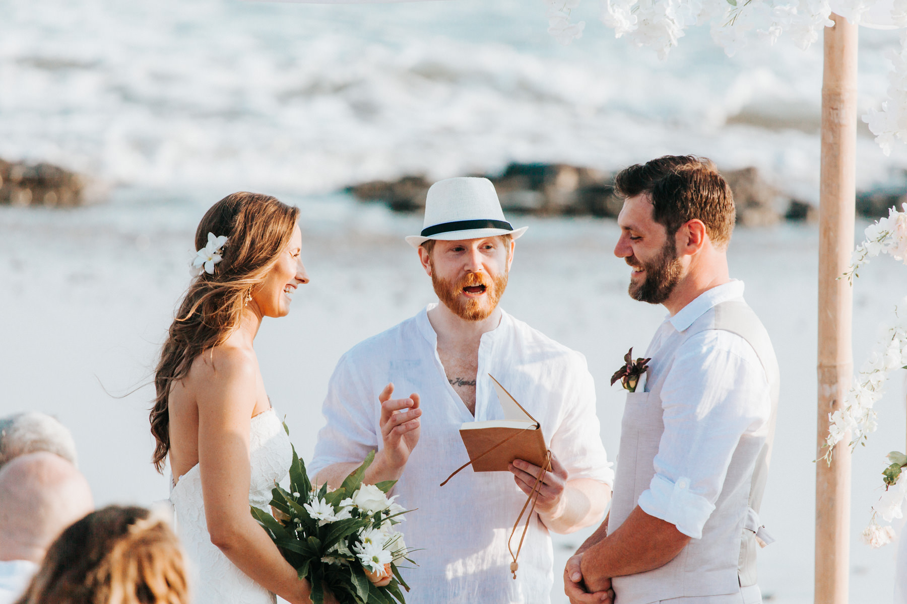 Costa Rica Destination beach wedding photographer