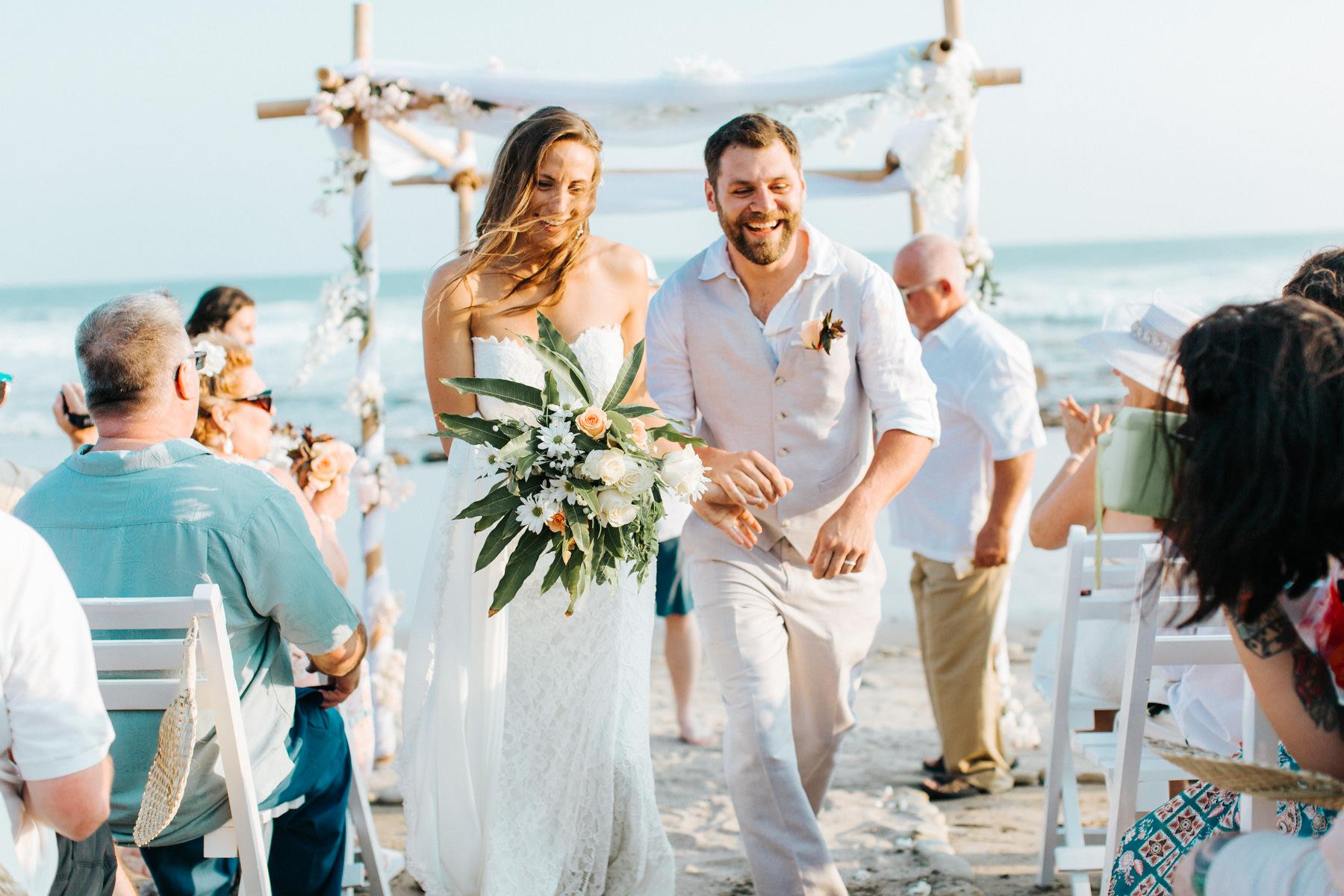 Beach Wedding photographer Costa Rica