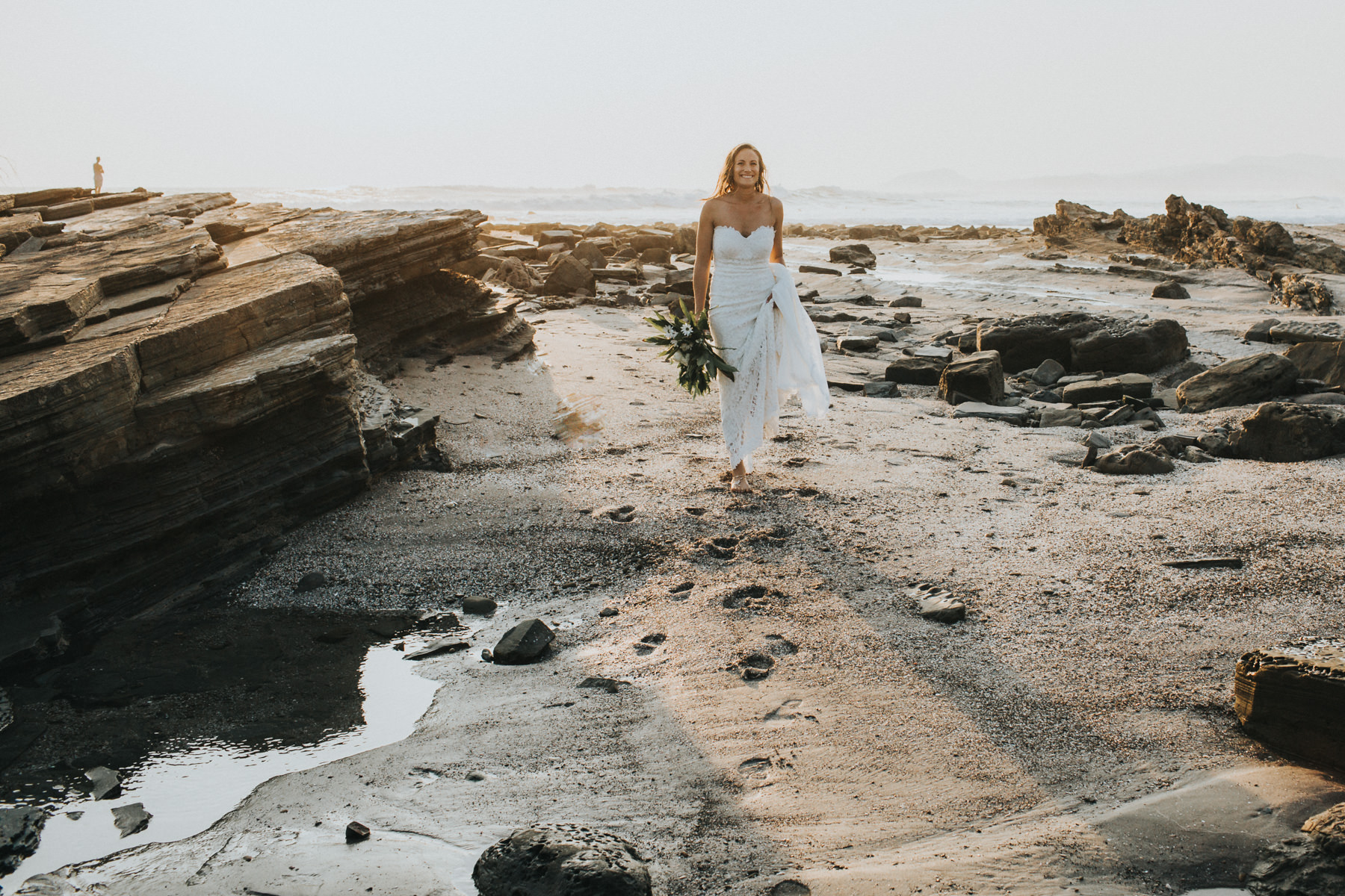 The bride - Costa Rica beach wedding photographer
