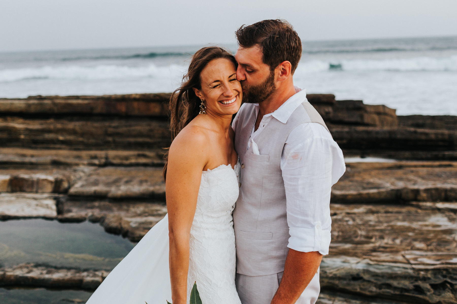 beach wedding photography - Costa Rica