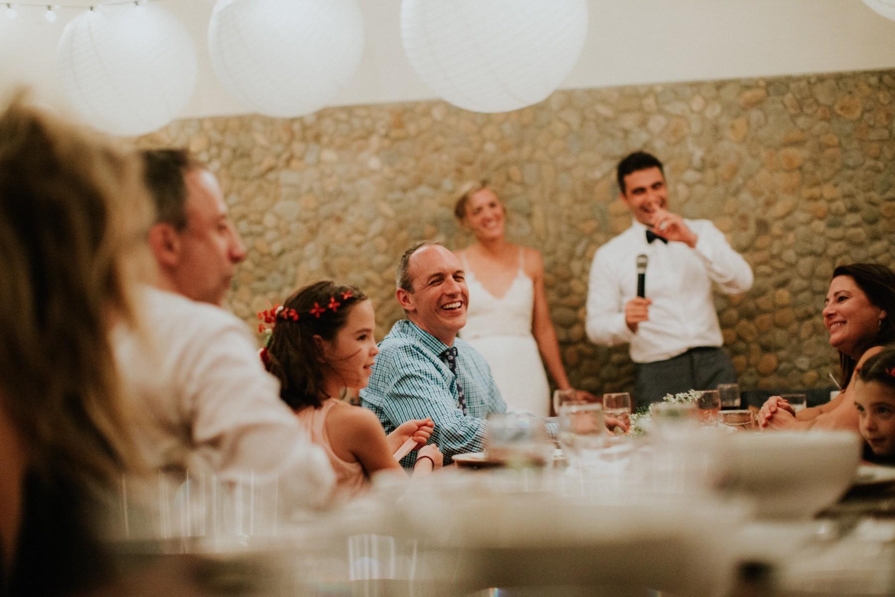 Wedding dinner photography Nicaragua