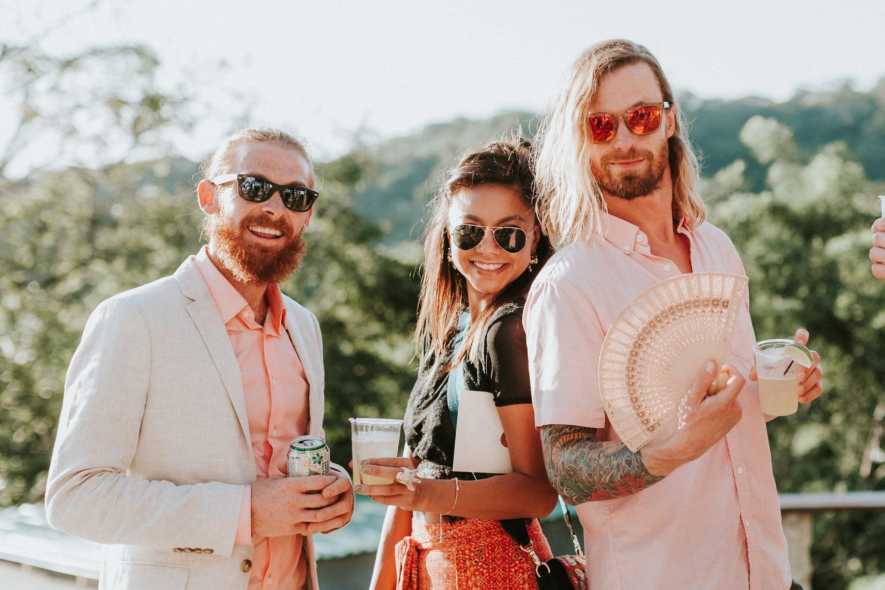 wedding guests Beach-Wedding-Maderas-Nicaragua