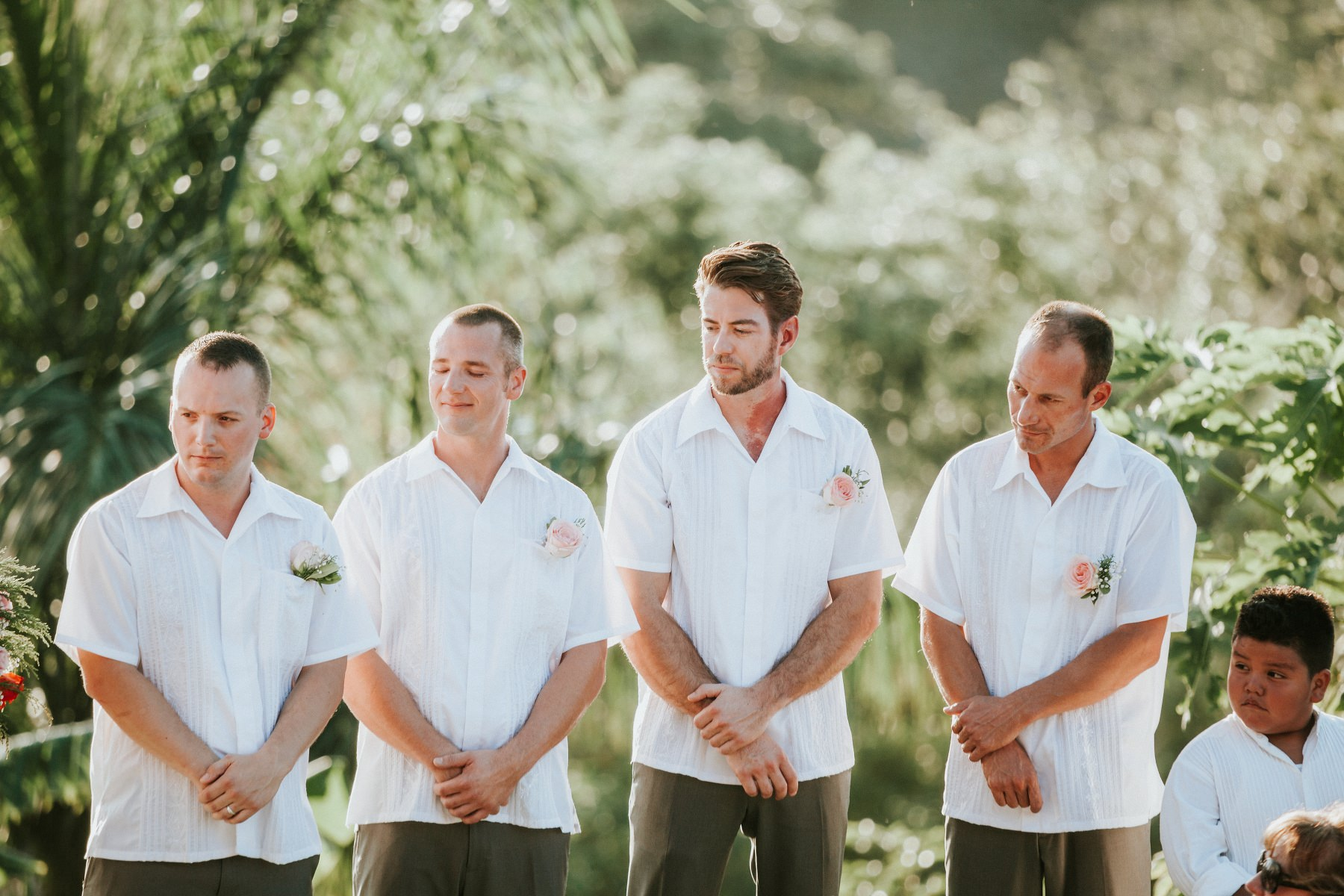 Groomsmen ideas destination wedding costa rica