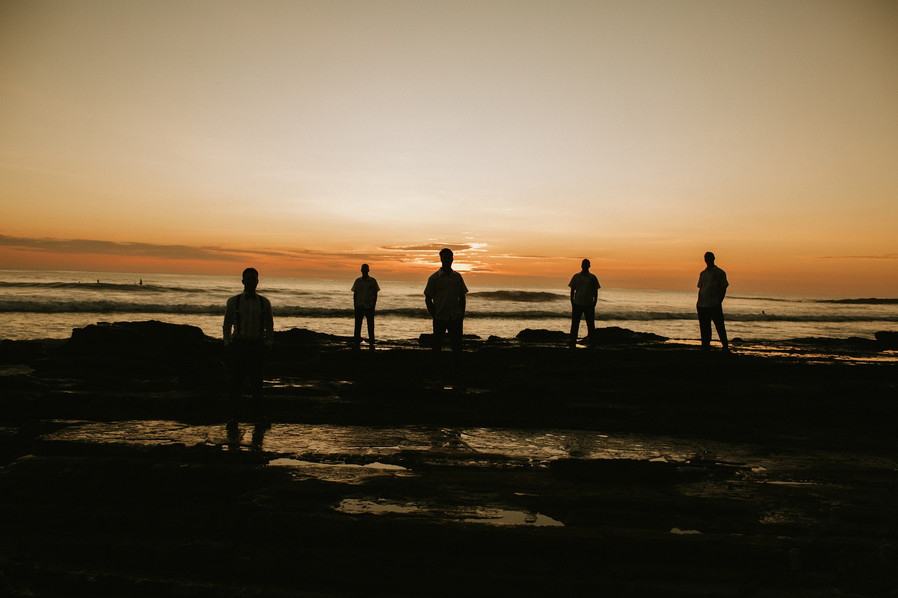 Groomsmen photo ideas Beach Destination wedding Costa Rica