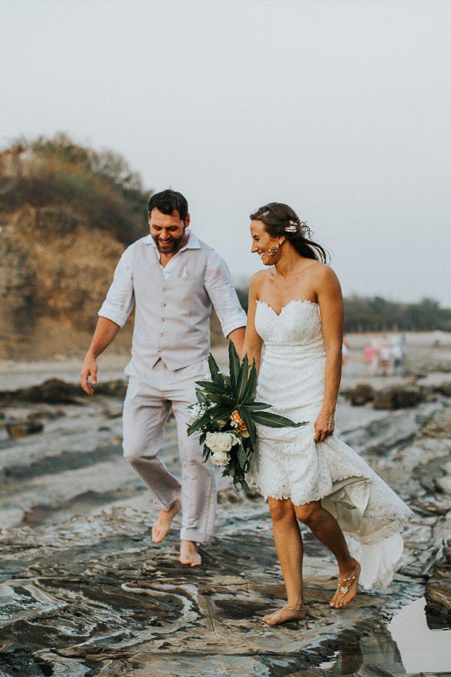 Beach destination wedding Costa Rica