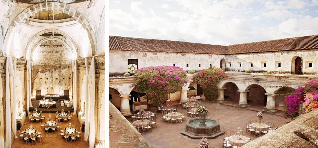 Las Capuchina wedding venue Guatemala