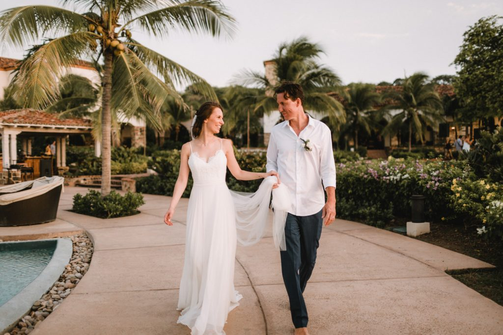 Newly weds - Tropical Destination Wedding in Costa Rica